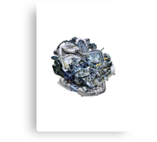 Subaru EJ20-25 Engine Canvas Print