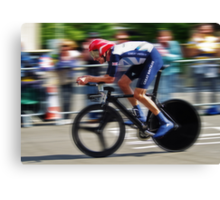 Bradley Wiggins - Sur Le Rivet Canvas Print
