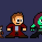 8-bit Guardians of the Galaxy by groundhog7s
