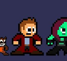 8-bit Guardians of the Galaxy by 8 Bit Hero
