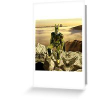 Cyborg Cell Perfect Form Greeting Card