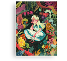 Alice in Wonder Canvas Print