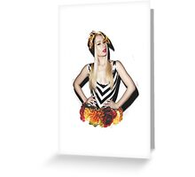 Iggy Floral Greeting Card