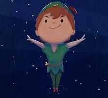 Peter Pan by amidotlee