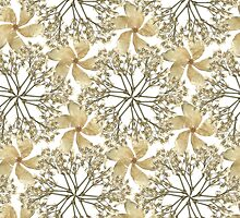 Baby's Breath Flower Pattern by kimberlylams