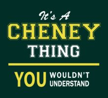 It's A CHENEY thing, you wouldn't understand !! by satro