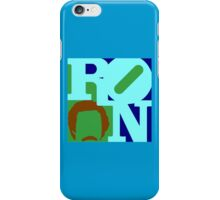 Ron Love (b) (Anchorman) iPhone Case/Skin