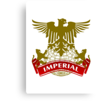 Fit For An Imperial Coat-of-Arms Canvas Print