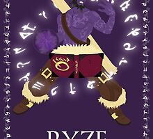Ryze, the Rogue Mage by studioNdesigns