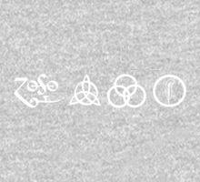 Led Zeppelin - Symbols Kids Clothes