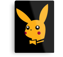 playboy pikachu Metal Print
