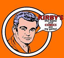 Jack Kirby by VicNeko