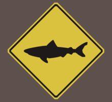 Shark Crossing Sign by Shawn Lokkart