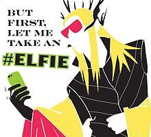 #Elfie by thranduart
