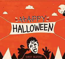Weeping Angel - Halloween Card by Risa Rodil