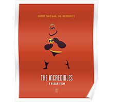 The Incredibles: Mr. Incredible Poster