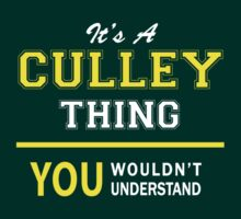 It's A CULLEY thing, you wouldn't understand !! by satro