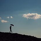 Walking under the clouds by DonatellaLoi
