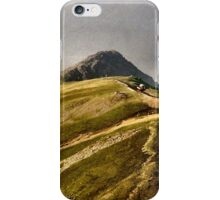 On top of the world - Snowdon iPhone Case/Skin