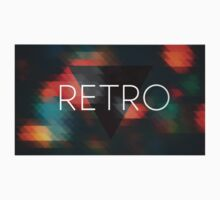 Hipster Retro Triangles Mosaic. by SamEchelon