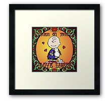 LOvelight ! Framed Print
