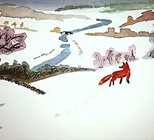 Mr. Fox went to catch mice by Claudia Dingle