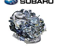 Subaru EJ20-25 Engine + Text by fadouli