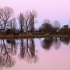 reflections on the lake by spetenfia