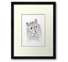 Mine Framed Print