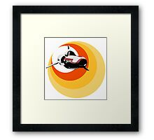 Turbo Boost Framed Print
