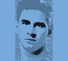 World Cup Edition - Leo Messi / Argentina by Milan Vuckovic