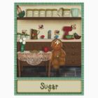Gingerbread Canister Label - Sugar by Patoodie