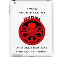 Agents of S.H.I.E.L.D > Ward's HYDRA t-shirt iPad Case/Skin