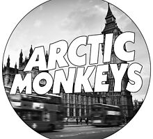 Arctic Monkeys London by LongLuke