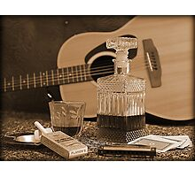 To Relax is to Inspire, when making music Photographic Print