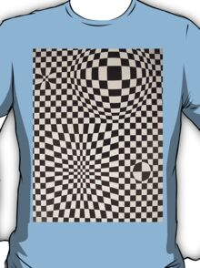 Vasarely: Black & White T-Shirt