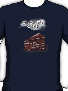 Chocolate Cake Slice Illustration T-Shirt