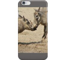 Warthog - Knockout Power from Africa iPhone Case/Skin