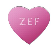 Zef Candy Heart - Pink by LozMac