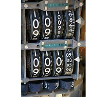 Number Cruncher Photographic Print