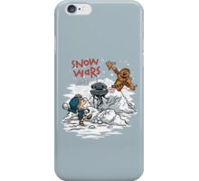 Snow Wars iPhone Case/Skin
