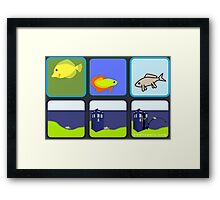 Back To The Water - Tardis Edition Framed Print