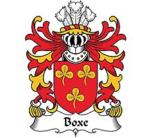 Boxe Coat of Arms (Welsh) Photographic Print
