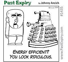 Cartoon : Daleks Gone Green Photographic Print