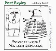 Cartoon : Daleks Gone Green T-Shirt