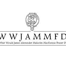 Jamie Fraser- WWJAMMFD by jvmiefraser
