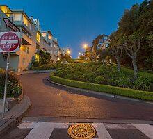 Lombard Street by Malcolm Katon
