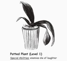 Level 1 Potted Plant Monster by dreamsplats