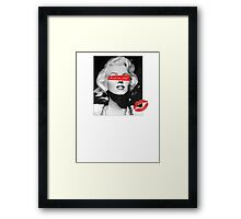 Trust No Bitch Framed Print