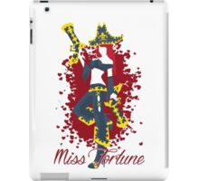 Miss Fortune, the Bounty Hunter iPad Case/Skin